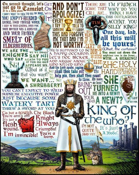 leadership lessons from monty python and the holy grail books monty python and the holy grail marscon 2018