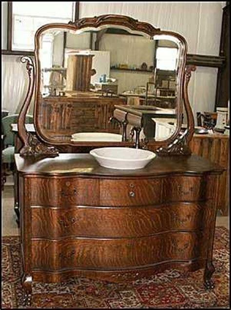 bathroom vanities from old furniture 36 best tiger oak images on pinterest vintage furniture