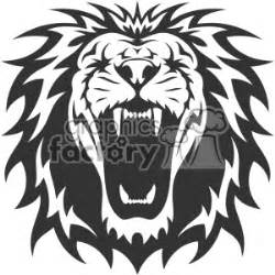 royalty free lion head roaring vector design 403160 vector