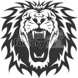 royalty free lion head roaring vector design 403160 vector
