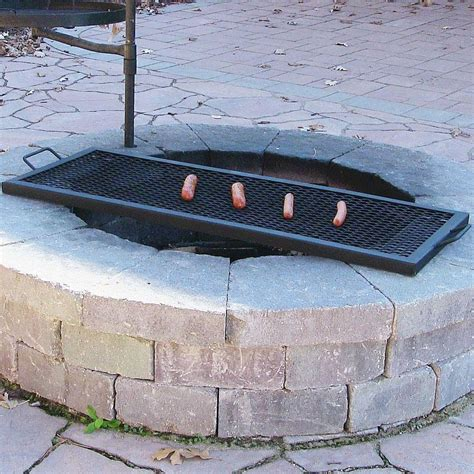 backyard pit grill large grill grates for pits pit design ideas