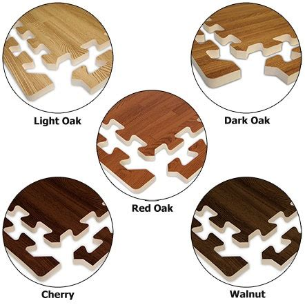 Pixy Foam 40 Gr wood grain foam flooring great for play room for the home kid plays and