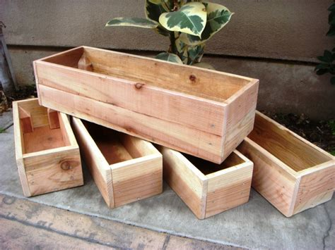 Plans For Building Wooden Planter Boxes by 70 Diy Planter Box Ideas Modern Concrete Hanging Pot