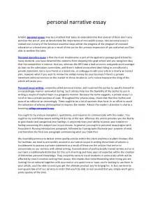 About Yourself Essay by How To Write A Narrative Essay About Yourself Exles How To Write A Narrative Essay 14