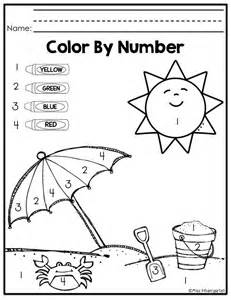 coloring pages color by number