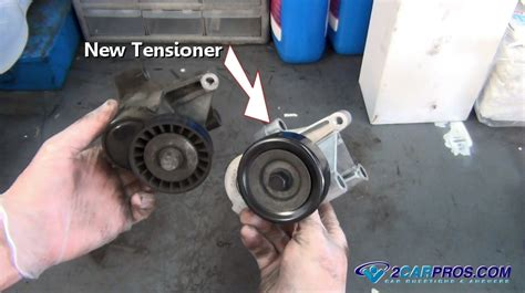 Tensioner Fan Belt Alphard Ori Termurah how serpentine belt tensioners work explained in 5 minutes