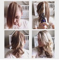 how to curl your hair fast with a wand fast hair curling technique alldaychic