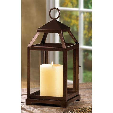 Home Decor Candle Lanterns Bronze Contemporary Candle Lantern Wholesale At Koehler Home Decor