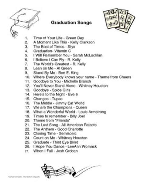 songs for graduation for daughter song quotes for graduation quotesgram