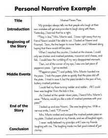 Exle Of Descriptive Essay Story by Exle And Personal Narrative Essay Sle Teaching I Am And