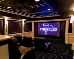 home theater basement