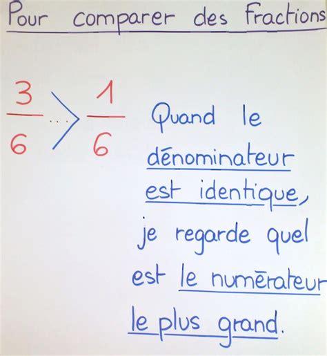 G_Vié - Les fractions Comparere