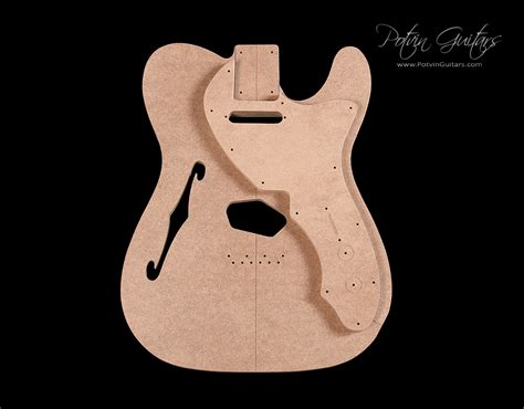 telecaster thinline body template for crafts