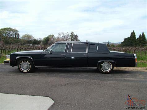 cadillac fleetwood limousine cadillac fleetwood limousine