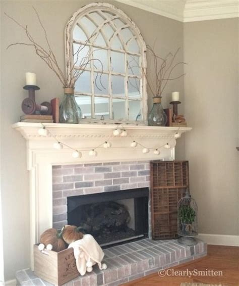 Decorative Mirrors For Above Fireplace by Best 25 Fireplace Decor Ideas On Mantle