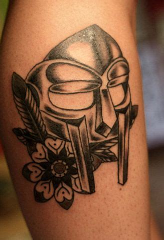 doom tattoo mf doom mask mf doom tatoo