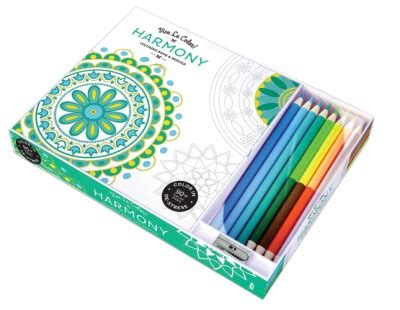 coloring books for adults pencils vive le color harmony coloring book and pencils