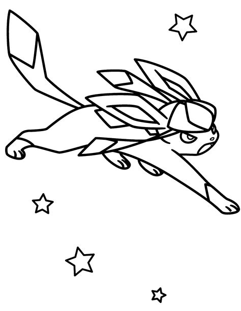 pokemon coloring pages eevee evolutions glaceon pokemon eevee evolutions with sylveon coloring pages