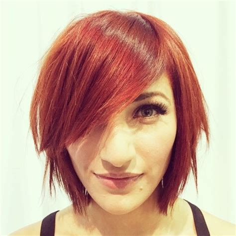 choppy a line with bangs short 60 interesting short bob hairstyles and haircuts with