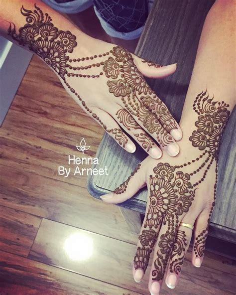 henna tattoo vancouver non bridal henna hennabyarneet bridal non bridal