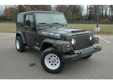 1997 Jeep Wrangler Value 1997 Jeep Wrangler Se 4x4 Data Info And Specs Gtcarlot