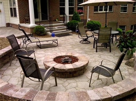 gas patio pit gas pit landscape contemporary with concrete