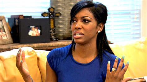porsche real hair housewives of atlanta porsha williams got nothing from kordell rhoa