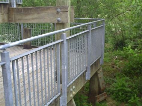 Galvanized Handrail by Stadium Ametco Manufacturing