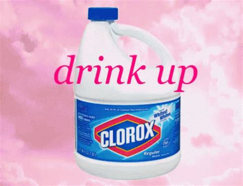 Drink Bleach Meme - drink up bleach gif bleach drinkup drink discover