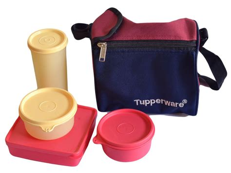 Cool Tupperware Lunch Set tupperware best lunch set 4 pieces 187b and lunch bag