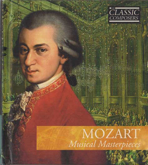 Novel Mozart S Last mozart musical masterpieces classic composers 3 cd book