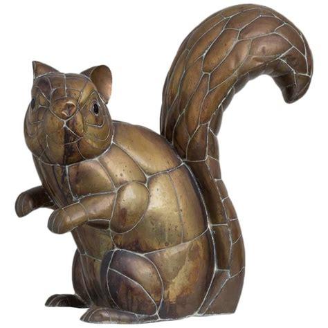 Sculpture 55cm Diskon 1 copper and brass squirrel by sergio bustamante 11 100 for