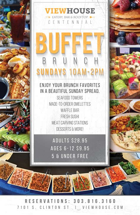 sunday brunch buffet menu sunday brunch buffet viewhouse
