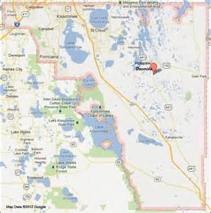 osceola county florida map