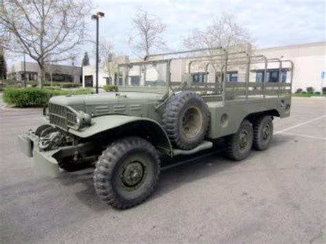 dodge 6x6 truck 1945 dodge wc 63 6x6 truck on govliquidation