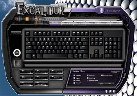 Dijamin Sades Excalibur Rgb Macro Mechanical Gaming Keyboard tesoro excalibur spectrum rgb mechanical gaming keyboard review