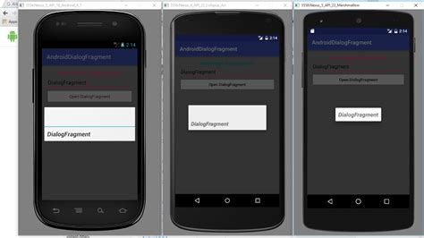 android dialog android er dialogfragment exle something wrong on android 6 marshmallow emulator
