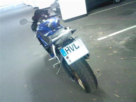 Motorrad Fahren Ohne Kennzeichen by Reflektor 252 Ber Dem Kennzeichen Seite 2 R6 Optik