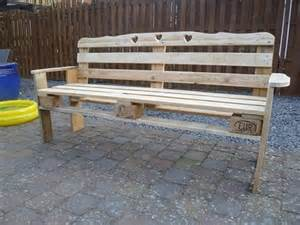 benches made from pallets patio pallet made bench pallet ideas recycled