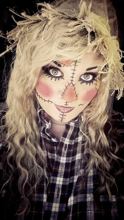 mindy scarecrow makeup  cool kostueme