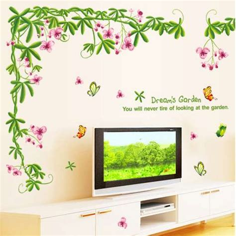 Harga Wallpaper Merk Wall toko yang jual wall sticker stiker dinding murah