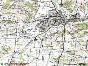 Heath Ohio Map by Heath Ohio Oh 43056 Profile Population Maps Real