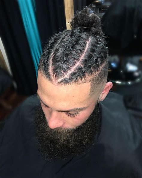 Mens Braids Hairstyles by Best 25 Braided Bun Ideas On Braids