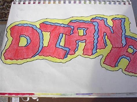 imagenes que digan diana graffitis de nombre de diana imagui