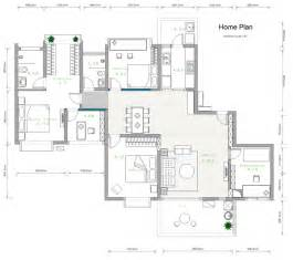 Home Design Layout by House Plan Example