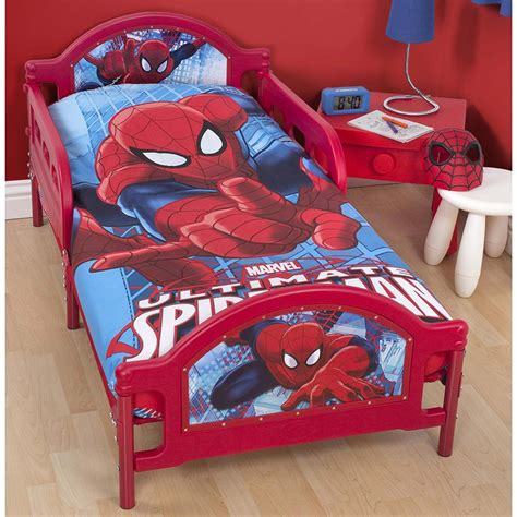spiderman toddler bed spider man ultimate junior toddler bed with mattress new