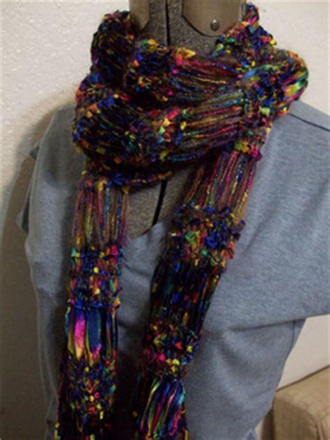 scarf pattern novelty yarn ravelry novelty yarn scarf pattern by stacey budge