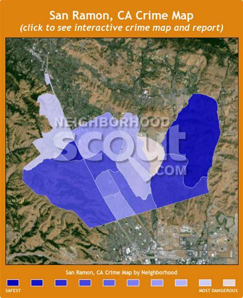 san jose crime reports map san ramon crime rates and statistics neighborhoodscout
