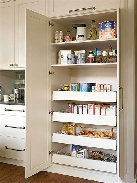 Kitchen Pantry Storage Ideas Slide Out Kitchen Pantry Drawers Inspiration The Inspired Room