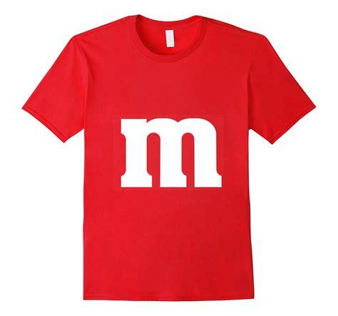 t shirt m m costume